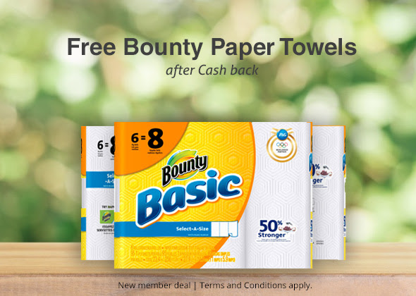 FREE Bounty Paper Towels from.