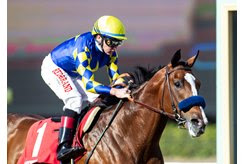Authentic wins the Sham Stakes at Santa Anita Park