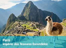 Saiba mais sobre a viagem ao Perú - Império dos Tesouros Escondidos