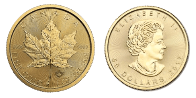 Gold Maple Coin