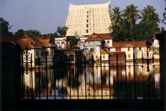 Padmanabha Swamy temple at midday