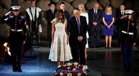 Trump-YadVashem