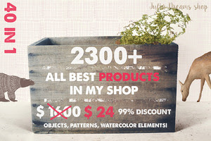 2300+ Elements [99% OFF]