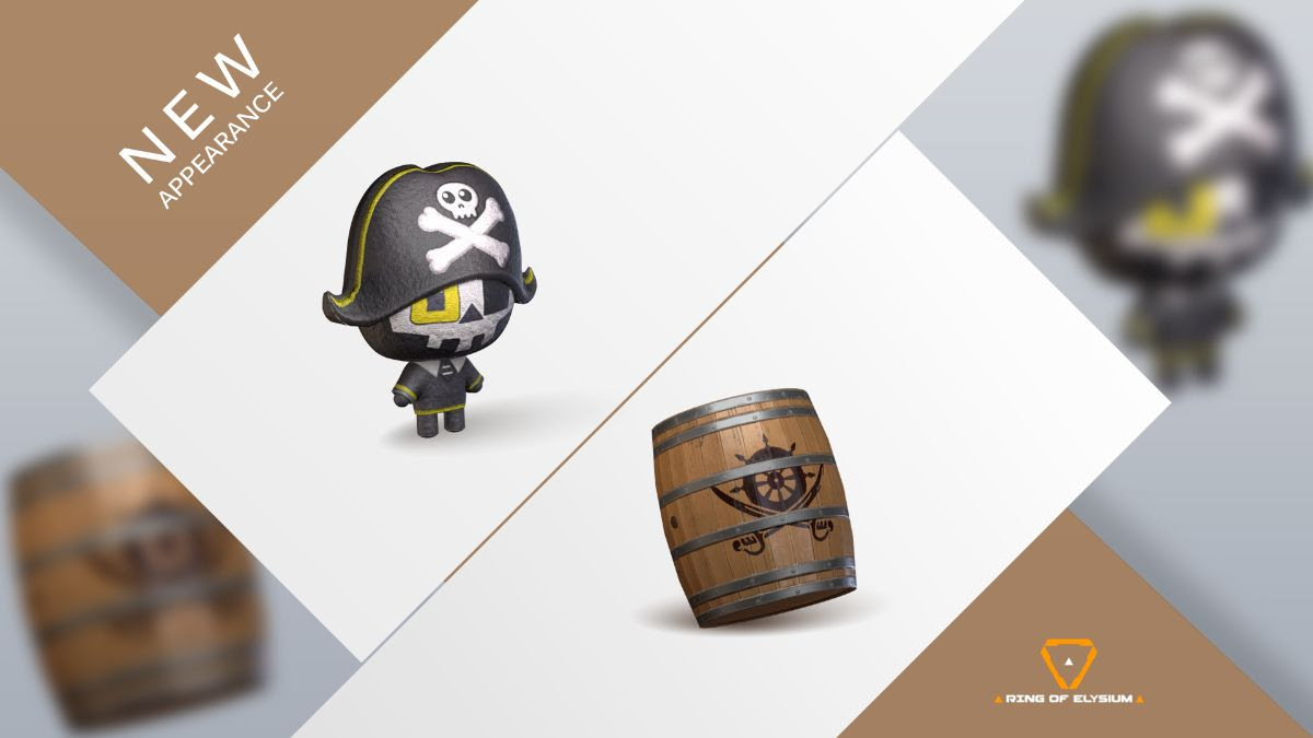 Ring of Elysium - Pirate Carnival Accessories