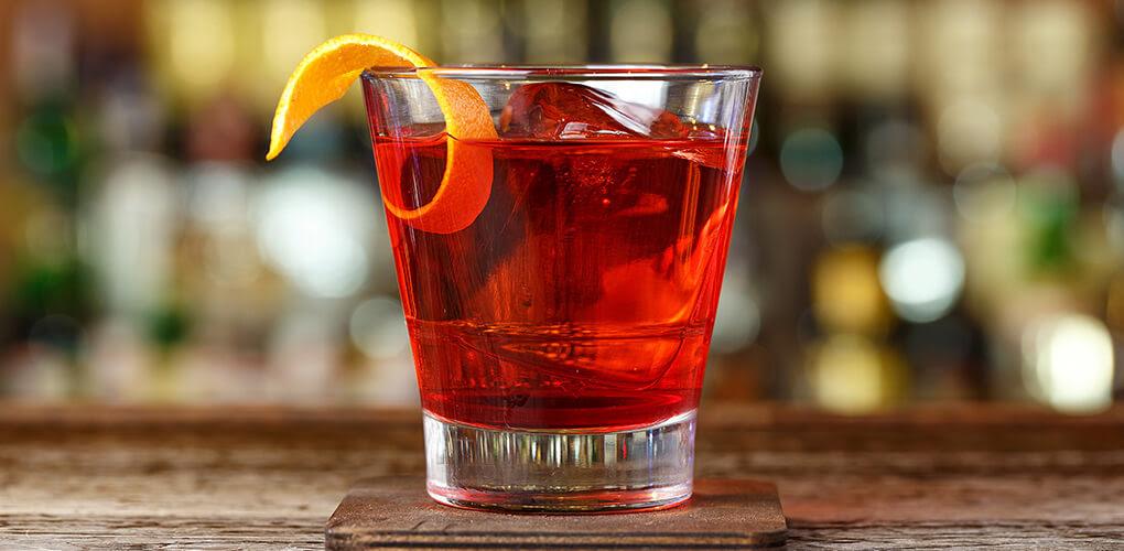 Siclian Negroni Drink