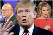 Roger Ailes, Donald Trump, Megyn Kelly