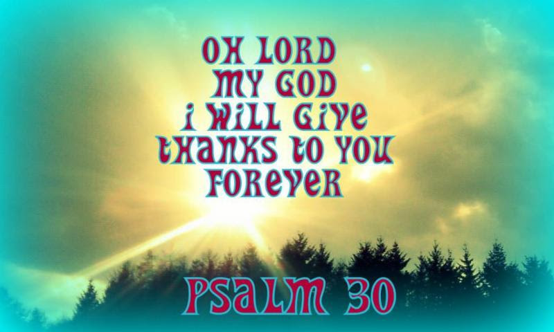 psalm 6 30 Psalms chapter 30 תְּהִלִּים 6 for his anger is but for a moment, his favour is for a life-time {n} weeping may tarry for the night, but joy cometh in.
