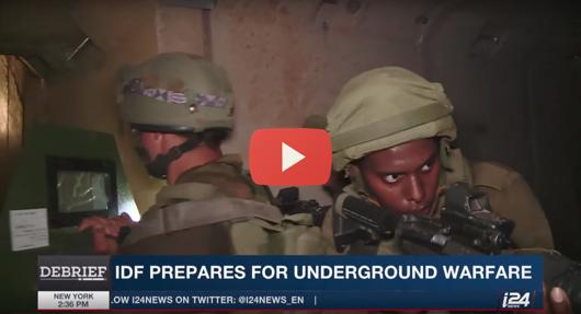IDF-under-ground-war-email