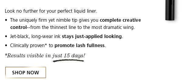 SHOP NOW! Lash Enhancing Liquid Liner Pen