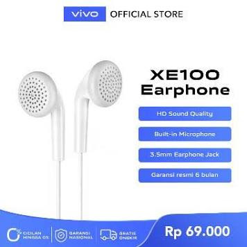 vivo XE100 Wired Headset
