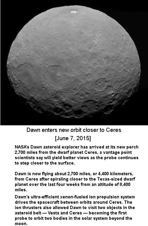 Dawn close to Ceres -1