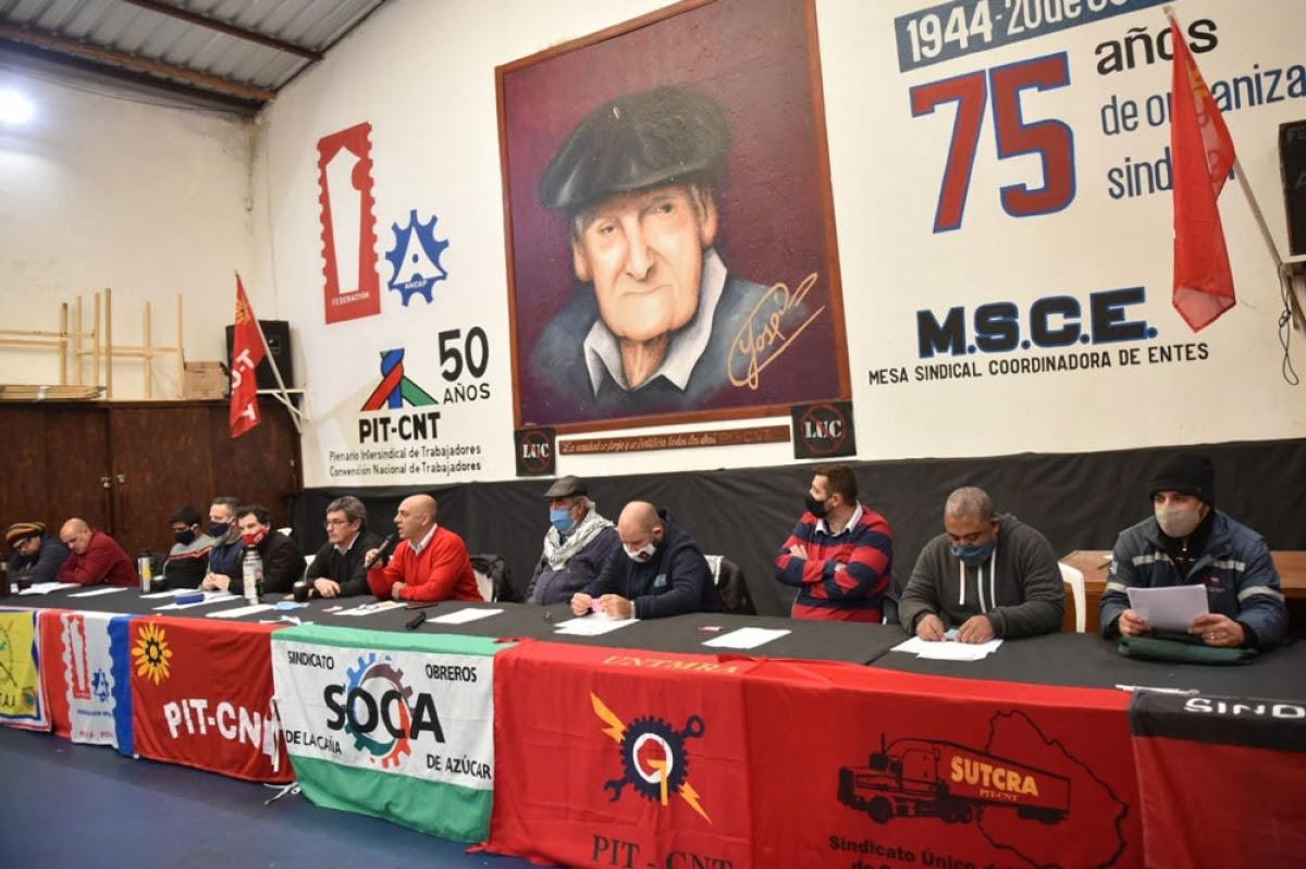Presentaron Coordinadora de sindicatos de ANCAP