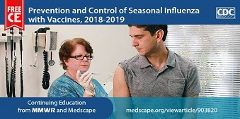 During the fall season, it's time to really start encouraging annual flu vaccination to your patients. Learn more and earn free CE with this training from CDC's MMWR and Medscape.