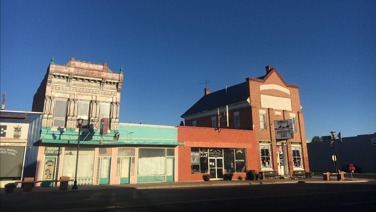 Panguitch Utah Main Street