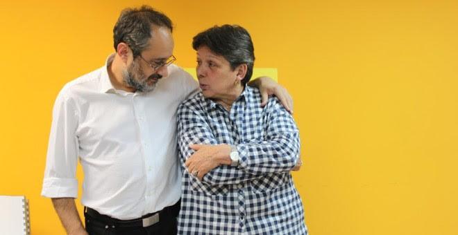 Antonio Baños y Gabriela Serra. M.F.