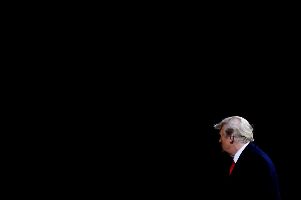 El presidente Donald Trump.