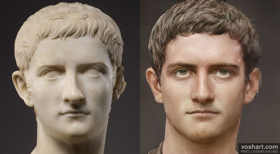 AI 'resurrects' 54 Roman emperors, in stunningly lifelike images