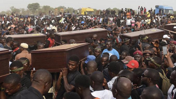 Muslims slaughter over 100 Christians, media blackout