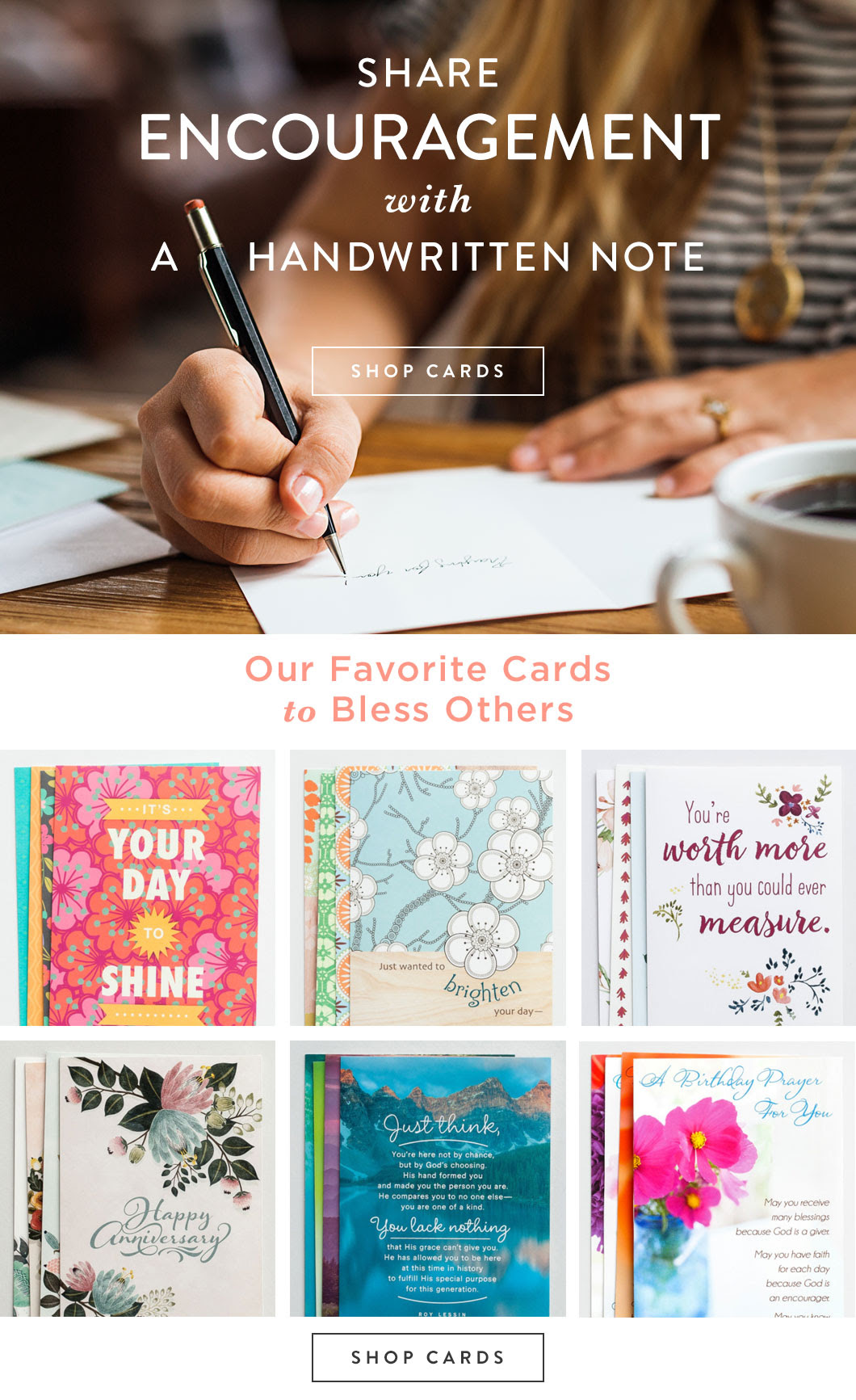 Share Encouragement with a Handwritten Note