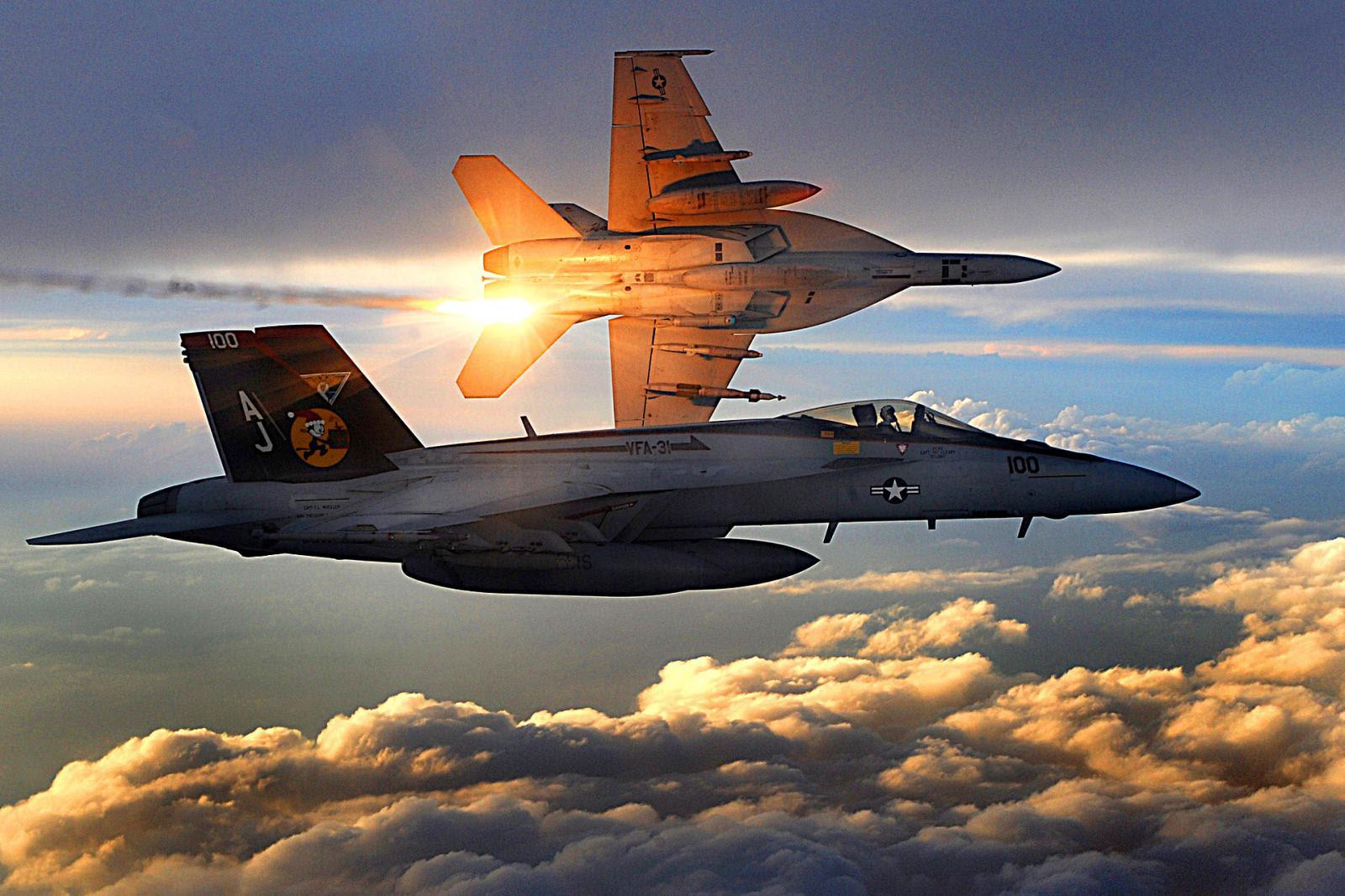 CF-18 hornets