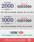 Upto Rs 2000 off on TV,Laptop,DSLR,washing machines