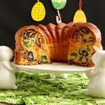 Пирог Разноцветные кружева
