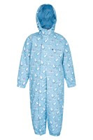 Light Blue Rain Suit