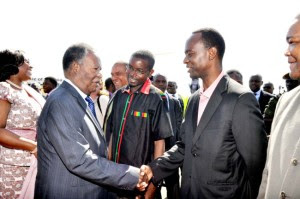 The 2 Satas - The President of Zambia and the Mayor of Lusaka - 2014