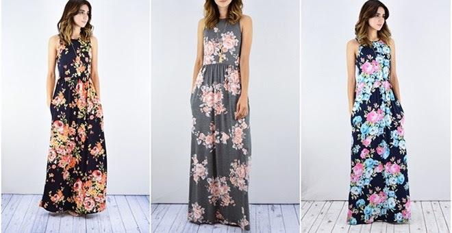 HOT!! Floral Maxi Dress...