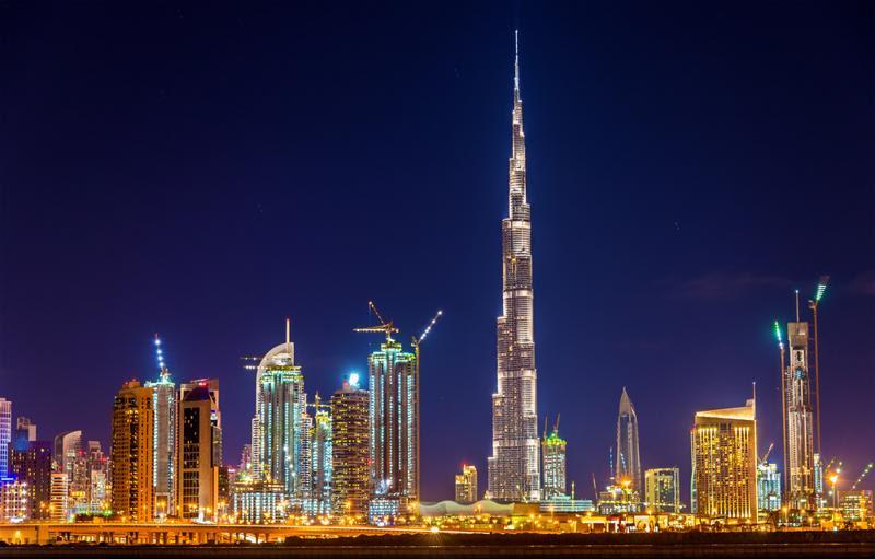 The Burj Khalifa @ Fare Buzz