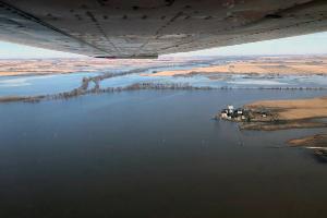 flood damage in Iowa