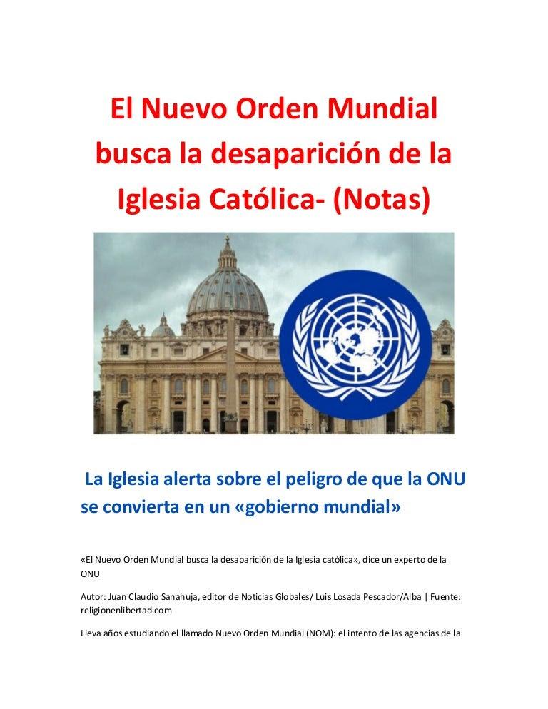 Resultado de imagen para JUAN CLAUDIO SANAHUJA NOTICIAS GLOBALES PNUD ES ABORTISTA