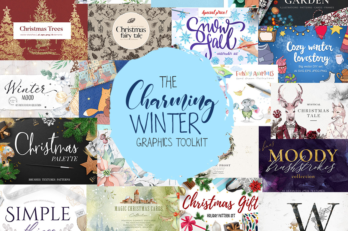 The Charming Winter Graphics Toolkit