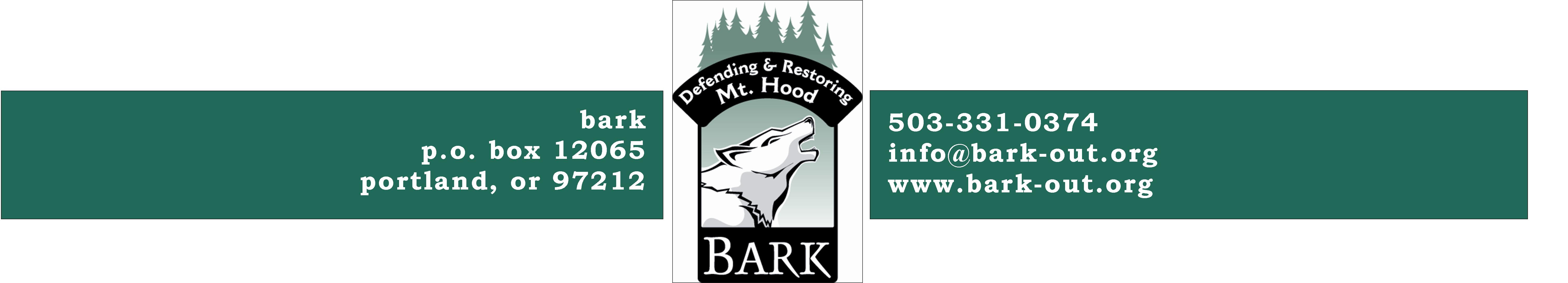 Bark: Defenders of Mt. Hood