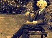 Mark Twain es recordado por su tino a la critica social a través de la sátira y el humor negro.