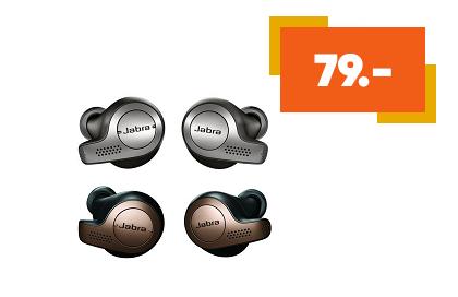 Ecouteurs sans fil True Wireless Jabra Elite 65t Noir et Cuivre / Titan