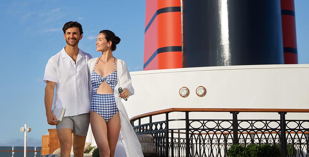 Cunard Cruise On deck