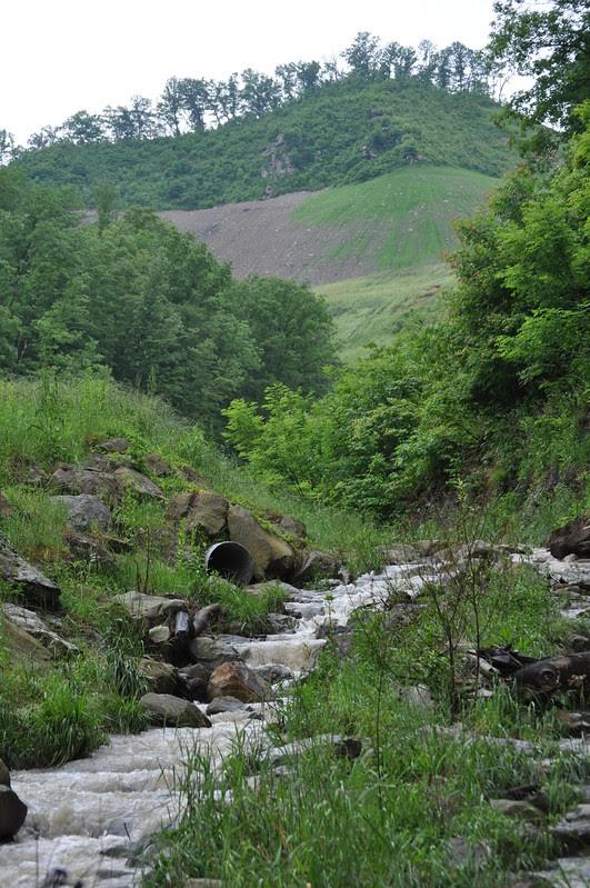 Frasure Creek Mine drainage, Floyd Co, KY