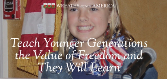 Teach Younger Generations the Value of Freedom and They Will...