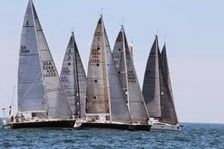 J/122 sailing New York YC Annual Regatta