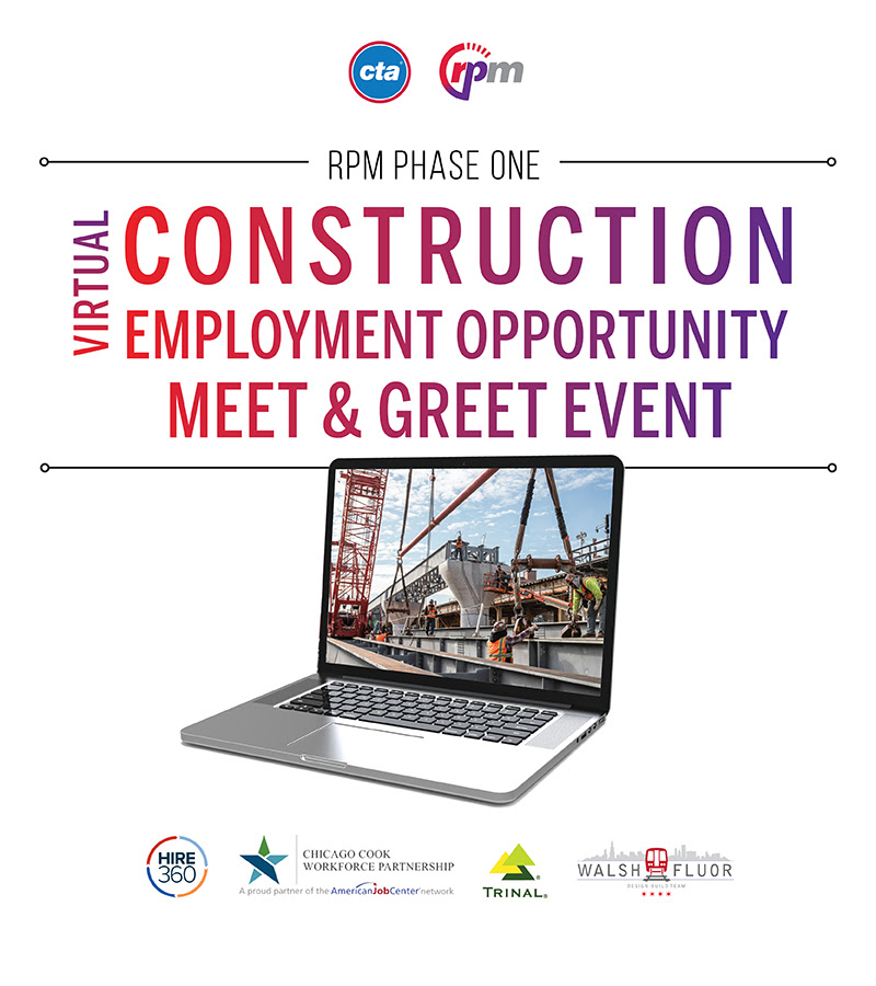 Virtual construction employment opportunity meet & greet event