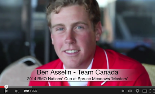 Watch an interview with Ben Asselin!