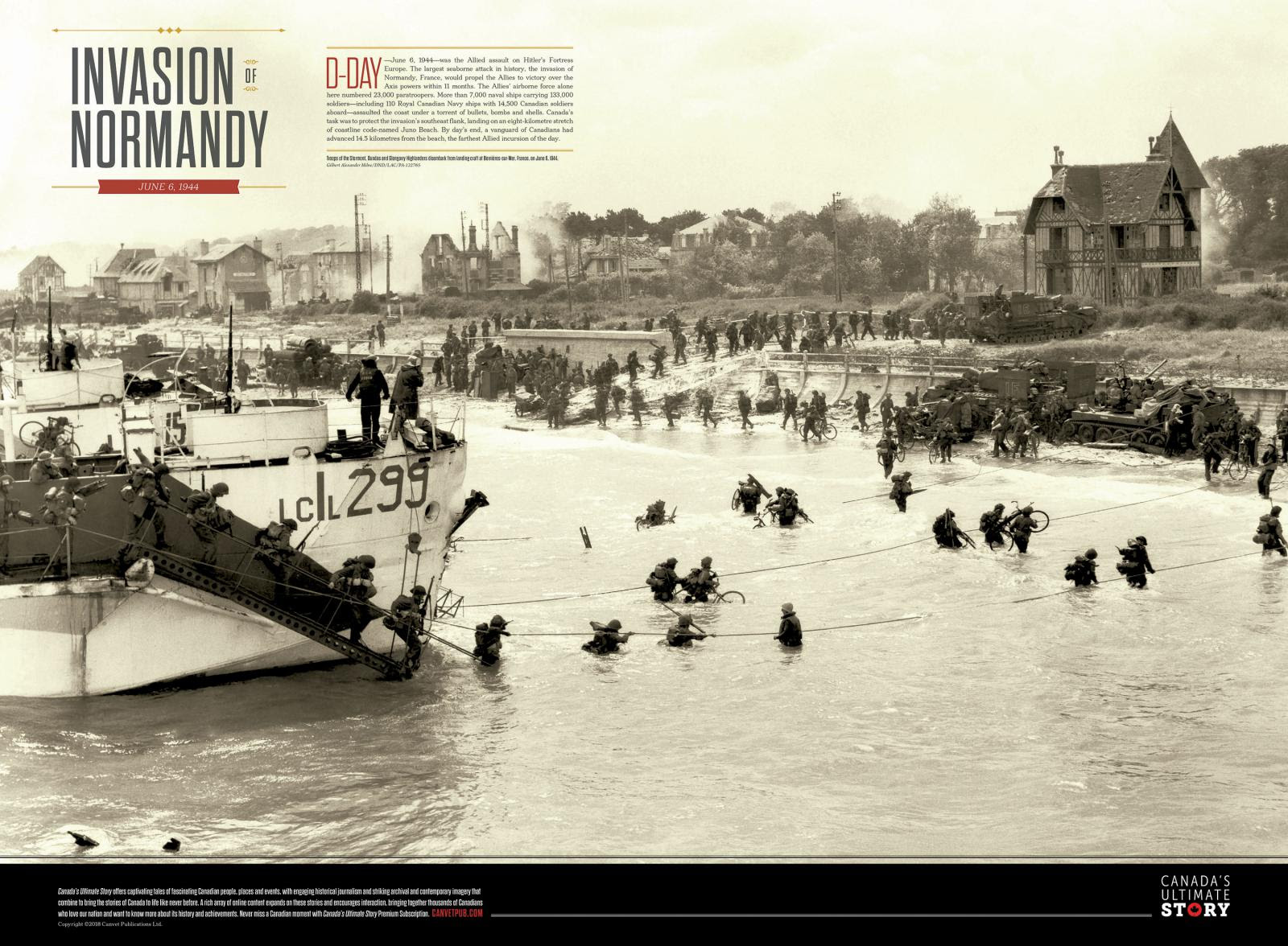 Invasion of Normandy Poster | 50% off!