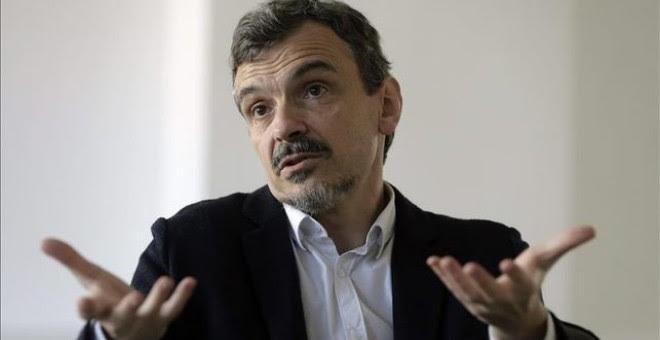 El portavoz de Podemos en la Asamblea de Madrid, José Manuel López.