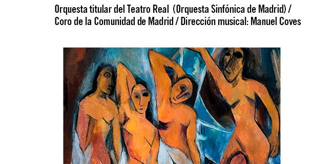Orquesta titular del Teatro Real ( Orquesta Sinfónica de Madrid) / Coro de la Comunidad de Madrid / Dirección musical: Manuel Coves