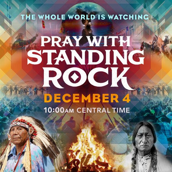 TODAY, for Standing Rock :: A Global Synchronized Prayer  A8461588882a43058a24bebb8d8d4999