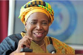 Outgoing AUC Chairperson  Nkosazana Dlamini - Zuma