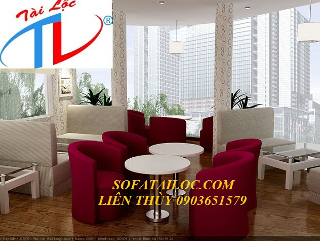 sofa cà phê đẹp Tài Lộc