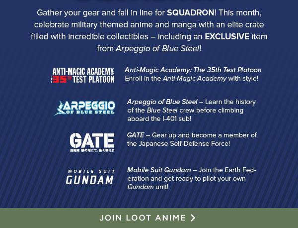 Loot Anime's JULY theme is...