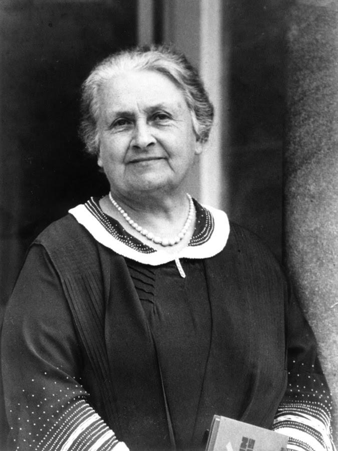 Dr. Maria Montessori